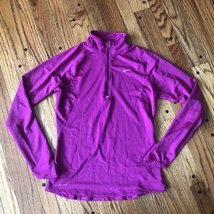 Nike Pink/Purple Dri-Fit Quarter Zip